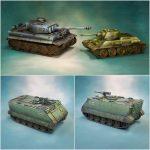 [Crowfunding] 3D Printable Tanks