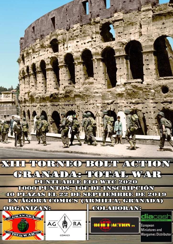 [Eventos] XIII Torneo de Bolt Action de Granada: Total War
